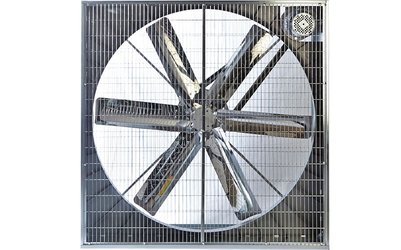Circulation fan steel blades