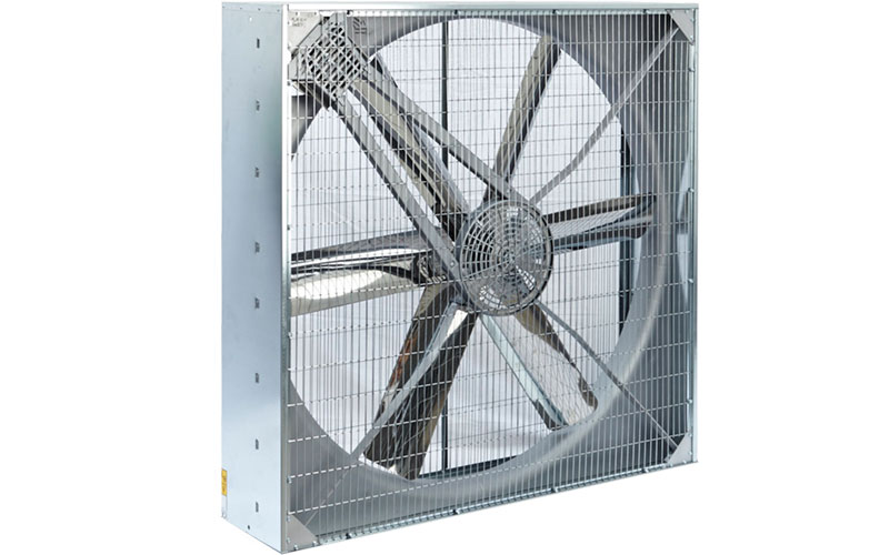 Poultry circulation fan